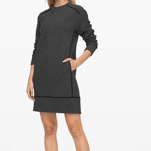 Lululemon Athletica Gray On Repeat Dress NWOT